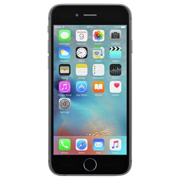 big sale 655d9 e4f1b Buy SIM Free iPhone 6s 32GB Mobile Phone - Space Grey | SIM free phones |  Argos