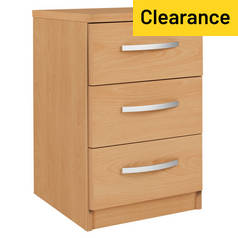 Argos Home Hallingford 3 Drawer Bedside Chest