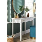 more details on Collection Osaka 3 Drawer Dressing Table - White.