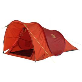 Highlander 2 Man 1 Room Pop Up Tunnel Camping Tent