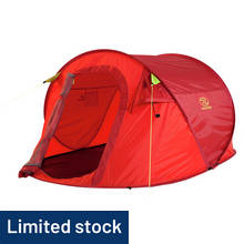 Highlander 3 Man 1 Room Pop Up Tent