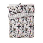 more details on HOME Animal Quirks Bedding Set - Double.