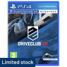 Driveclub VR PS4 Game
