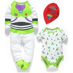 more details on Disney Toy Story 3 Piece Gift Set - 0-3 Months.
