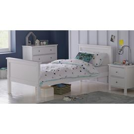 Argos Home Brooklyn White Single Bed