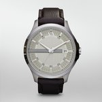 more details on Armani Exchange AX2100 Men's Date Brown Leather Strap Watch.