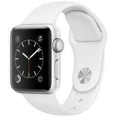 Apple Watch S1 42MM Silver / White Sport Band