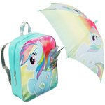 more details on My Little Pony Backpack and Umbrella.