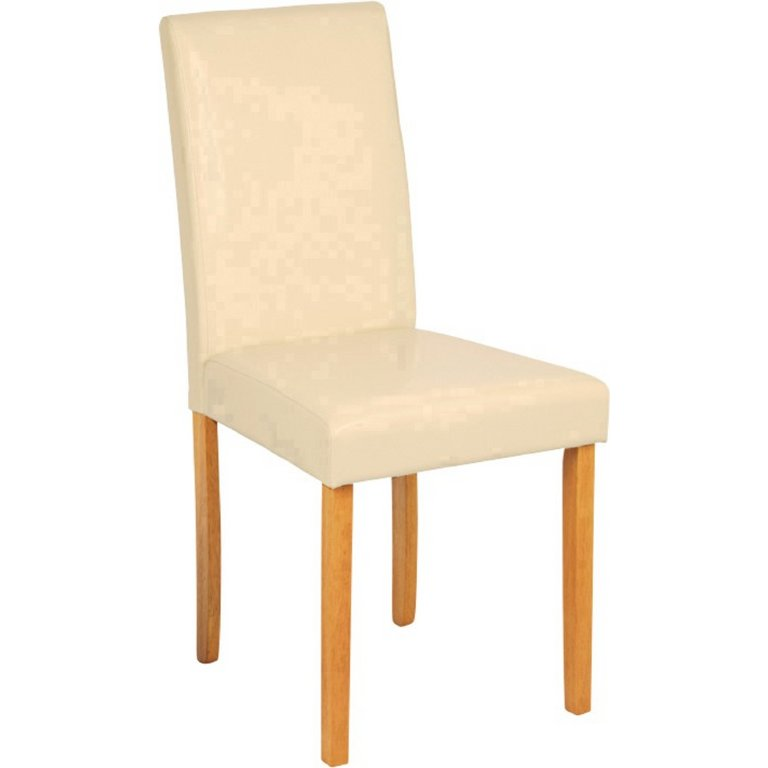 Buy HOME Pair of Leather Effect Mid Back Chairs Cream at  : 6032364RSETMain768ampw620amph620 from www.argos.co.uk size 620 x 620 jpeg 15kB