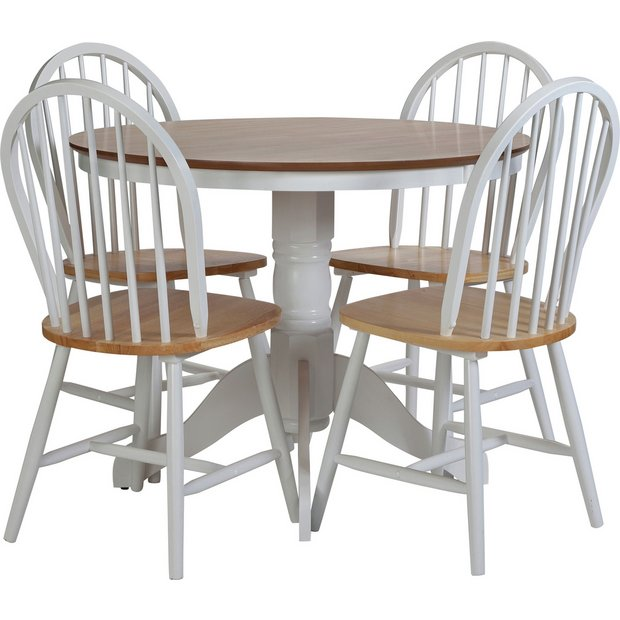 Argos Uk Dining Table And Chairs: Buy Collection Kentucky Fixed Dining Table & 4 Chairs- Two