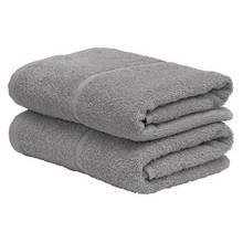 Argos Home Pair of Hand Towels - Flint Grey