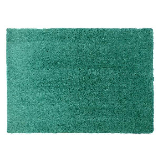 Argos red rug buy colourmatch snuggle shaggy rug for Door mats argos