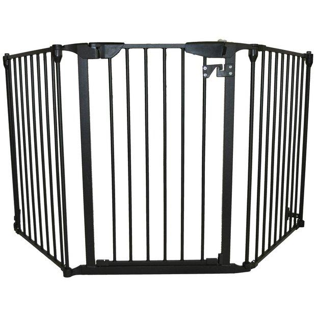 buy babystart extra wide adjustable gate at. Black Bedroom Furniture Sets. Home Design Ideas