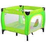 more details on Caretero Quadra Playpen - Green.