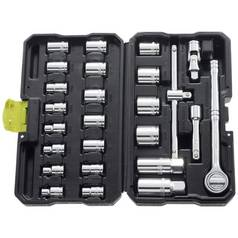 600de4e996a Guild 25 Piece 3 8 Inch Metric Socket Set
