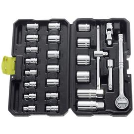 Guild 25 Piece 3/8 Inch Metric Socket Set