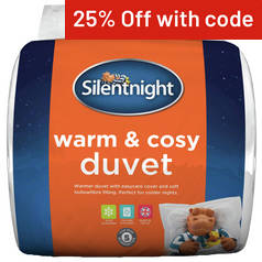 Silentnight Warm and Cosy 15 Tog Duvet - Kingsize