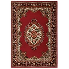 HOME Bukhura Traditional Rug - 160x230cm - Red