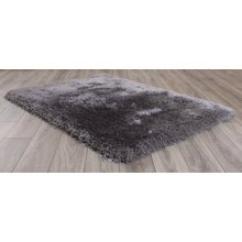 Mayfair Shaggy Rug - 120x170cm - Silver