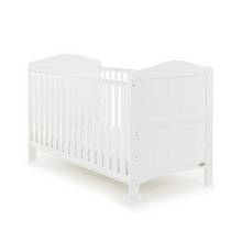 Obaby Whitby Cot Bed - White