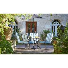 Argos Home Madrid 4 Seater Metal Patio Set