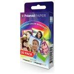 more details on Polaroid Rainbow Border Paper 20 pack.