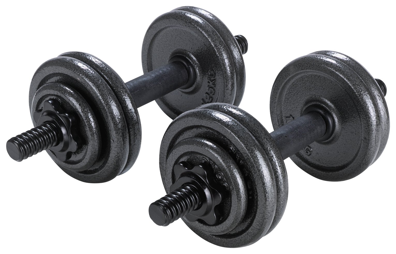 Opti Cast Iron Dumbbell Set 20kg