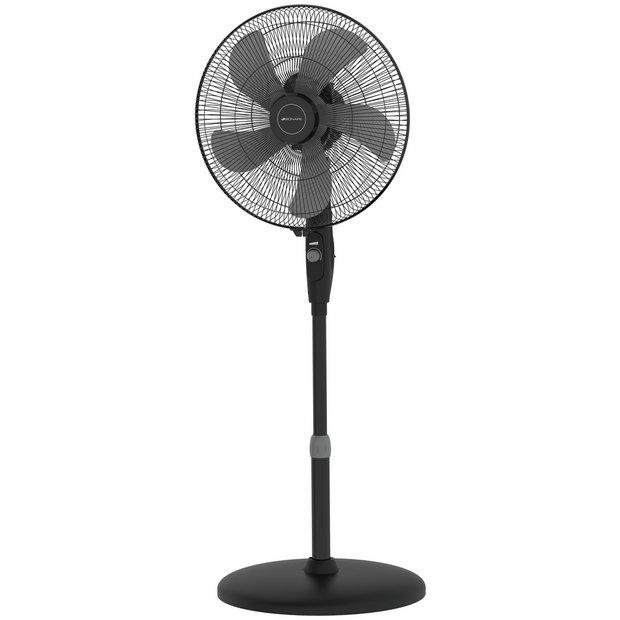 Bionaire Black High Performance Pedestal Fan - 16 Inch