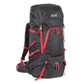 ProAction 65L Backpack - Black and Red