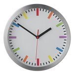 more details on HOME Round Wall Clock - Silver.