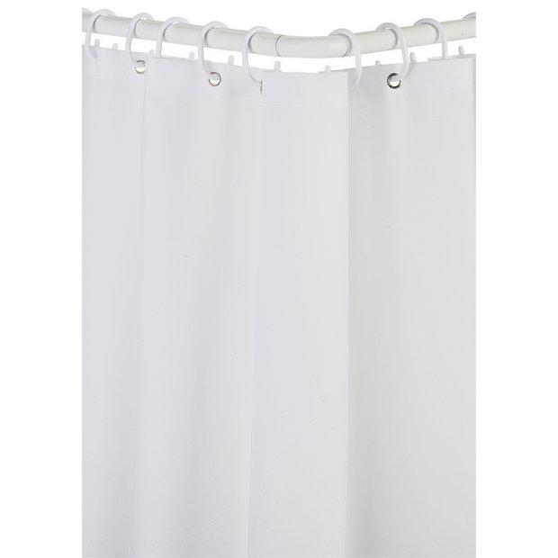 Buy Croydex Modular Aluminium Shower Curtain Amp Rail Set