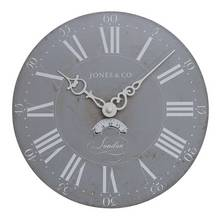 Jones Darwin Clock - Grey
