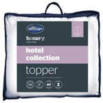 more details on Silentnight Luxury Hotel Collection Mattress Topper - Double