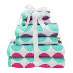 more details on ColourMatch 6 Piece Towel Bale - Spots.