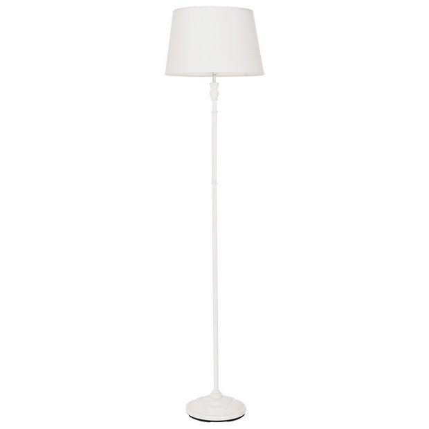 Buy home thetford stick floor lamp cream floor lamps for Floor lamp babies r us