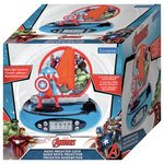 more details on Avengers Radio Projector Alarm Clock.
