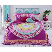Pieridae Mandala Pink Paisley Bedding Set - Kingsize