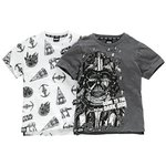 more details on Star Wars 2 Pack of T-Shirts - 4-5 Years.