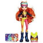 more details on My Little Pony Equestria Girl Sunset Shimmer Motorcross Doll
