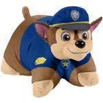 more details on PAW PATROL CHASE 18IN PILLOW PET
