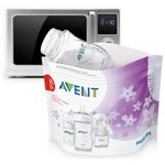more details on Philips Avent SCF297 Microwave Steam Steriliser Bags x5.
