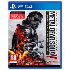 Metal Gear Solid V: The Definitive Experience PS4 Game
