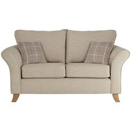 Argos Home Kayla 2 Seater Fabric Sofa - Beige