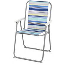 Picnic Chair - Blue Striped