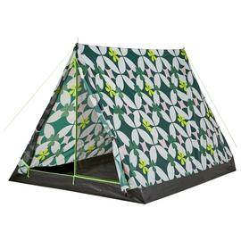 Trespass 2 Man 1 Room Quick Pitch Tunnel Camping Tent