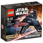more details on LEGO SW Krennic's Imperial Shuttle Microfighter - 75163.