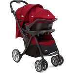 more details on Joie Extoura Travel System - Red.