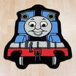 more details on Thomas & Friends Express Shaped Rug - Blue.