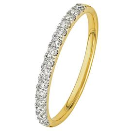 Revere 9ct Yellow Gold 0.25ct Diamond Claw Set Eternity Ring