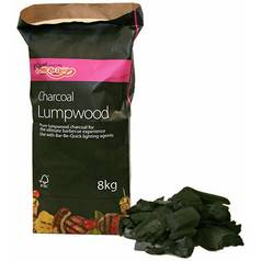 Bar-Be-Quick Charcoal Lumpwood - 8kg Bag